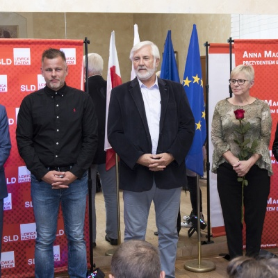Inauguracja kampanii KKW SLD Lewica Razem w Bydgoszczy