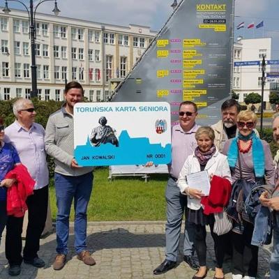 SLD w z inicjatywą – Toruńska Karta Seniora